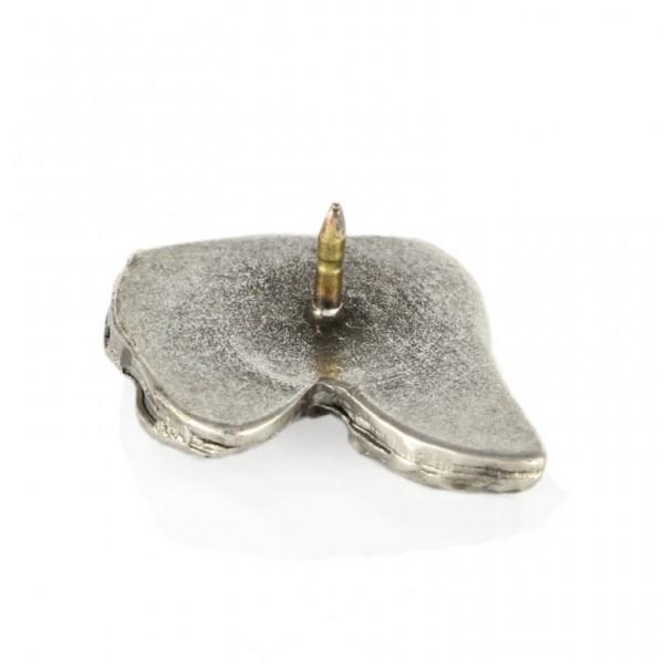 Dachshund - pin (silver plate) - 448 - 25885