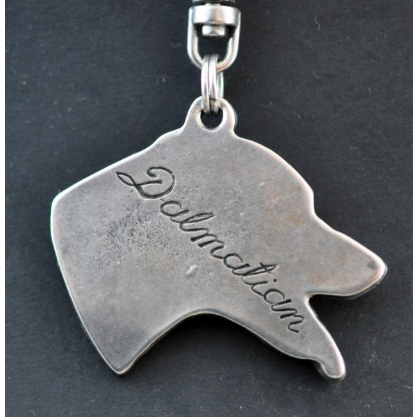 Dalmatian - keyring (silver plate) - 21 - 154