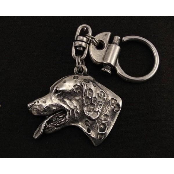 Dalmatian - keyring (silver plate) - 21 - 9221