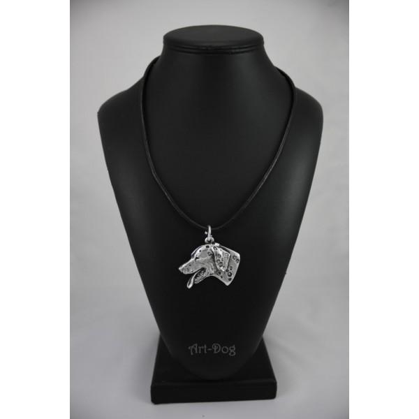 Dalmatian - necklace (strap) - 161 - 744