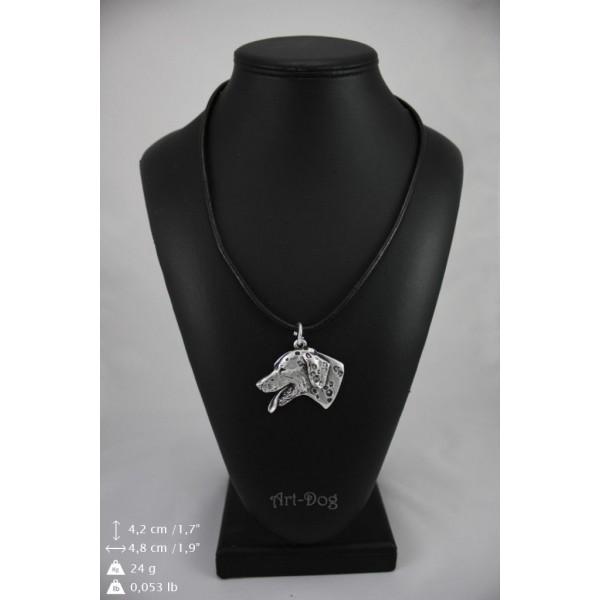 Dalmatian - necklace (strap) - 161 - 8963
