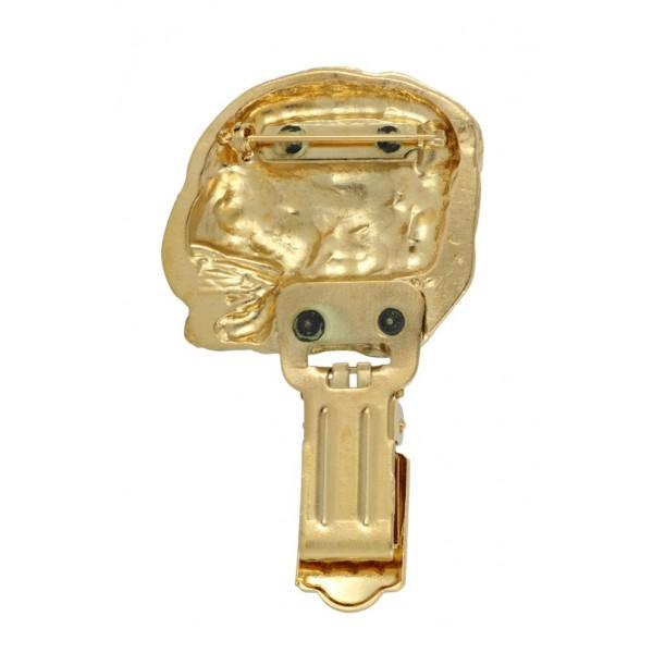 Dog de Bordeaux - clip (gold plating) - 1027 - 26677
