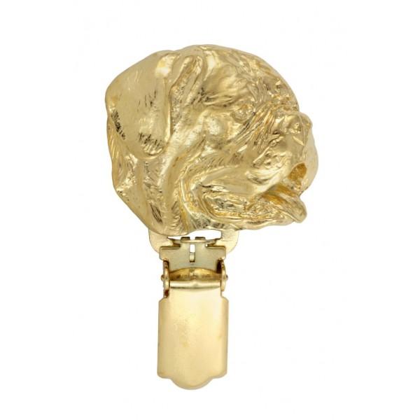 Dog de Bordeaux - clip (gold plating) - 1027 - 26678