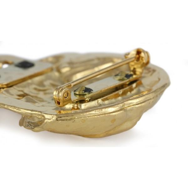 Dog de Bordeaux - clip (gold plating) - 1027 - 26679