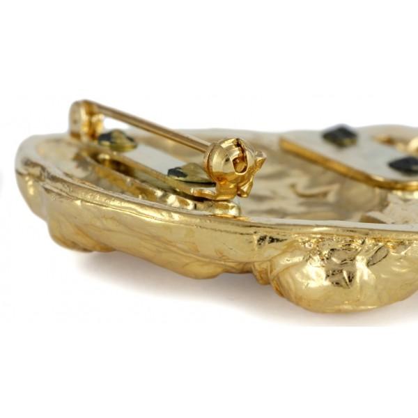 Dog de Bordeaux - clip (gold plating) - 1027 - 26680