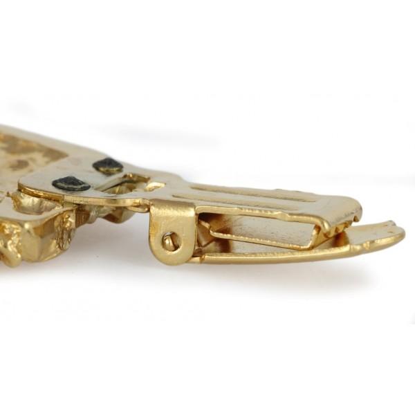 Dog de Bordeaux - clip (gold plating) - 1027 - 26681
