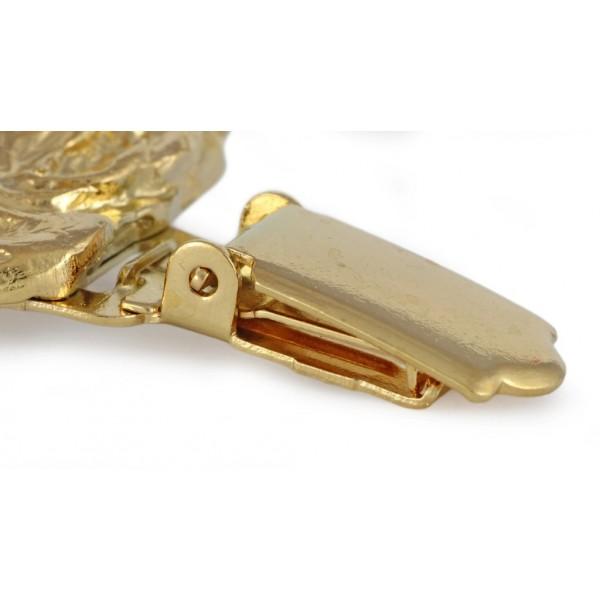 Dog de Bordeaux - clip (gold plating) - 1027 - 26682