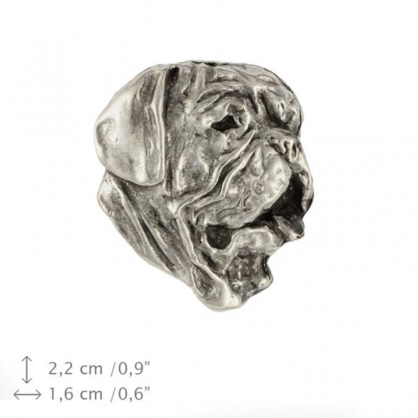 Dog de Bordeaux - pin (silver plate) - 470 - 25989
