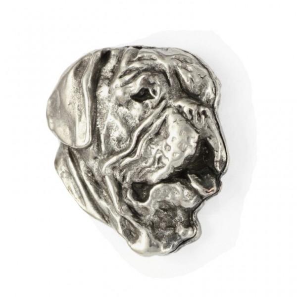 Dog de Bordeaux - pin (silver plate) - 470 - 25992