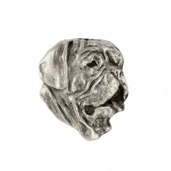 Dog de Bordeaux - pin (silver plate) - 470 - 25993
