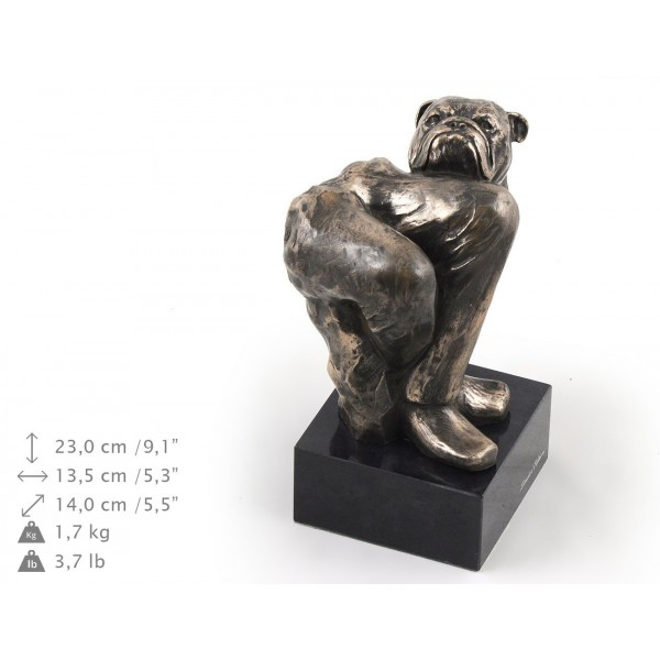 English Bulldog - figurine (bronze) - 325 - 9192