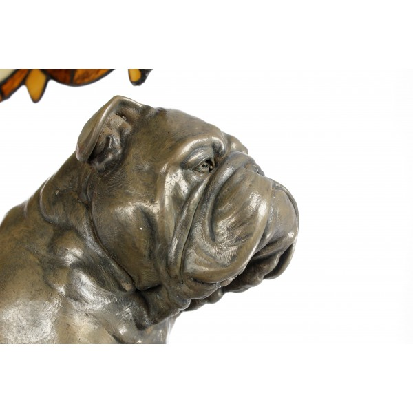 English Bulldog - lamp (bronze) - 659 - 7623