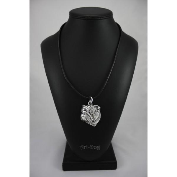English Bulldog - necklace (strap) - 229 - 890
