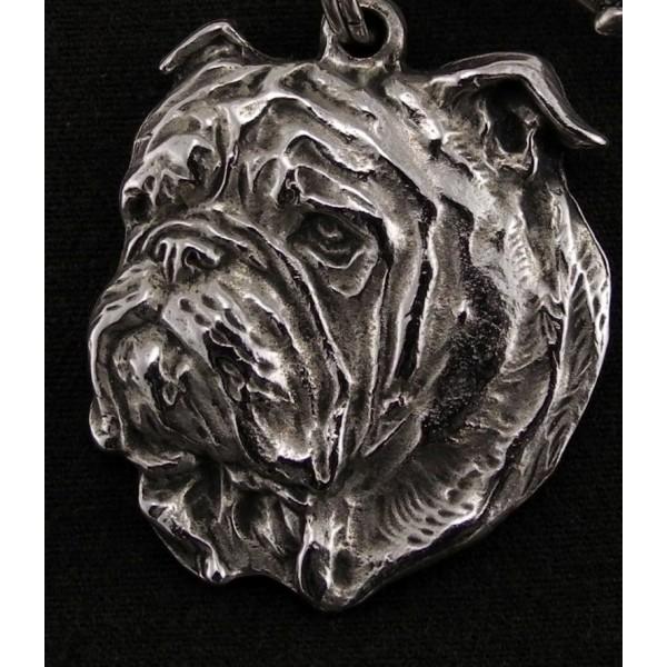 English Bulldog - necklace (strap) - 229 - 891