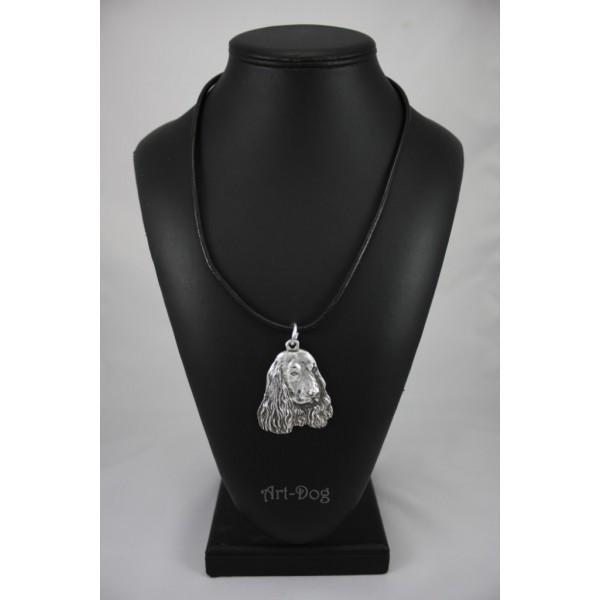 English Cocker Spaniel - necklace (strap) - 405 - 1448