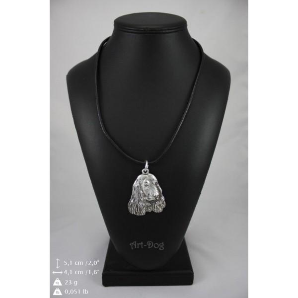 English Cocker Spaniel - necklace (strap) - 405 - 9032