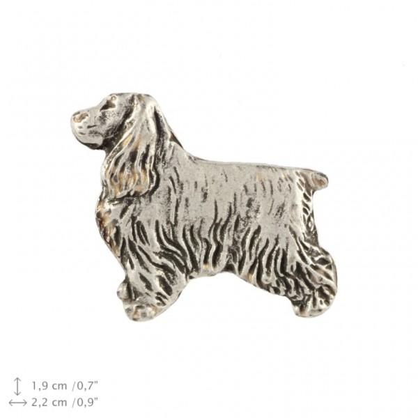 English Cocker Spaniel - pin (silver plate) - 464 - 22228