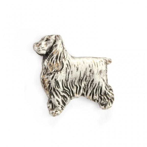 English Cocker Spaniel - pin (silver plate) - 464 - 22230