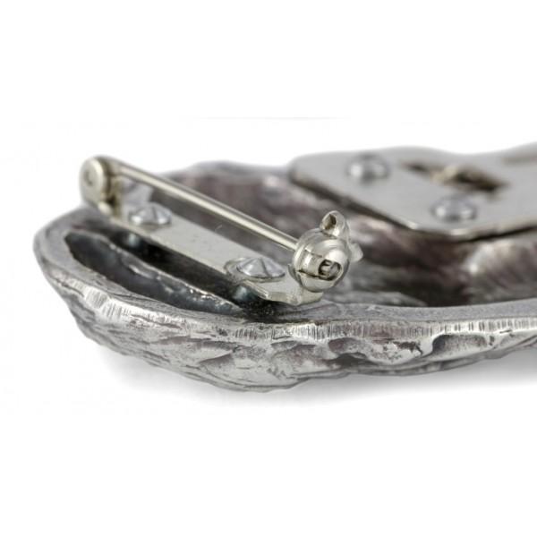 English Springer Spaniel - clip (silver plate) - 292 - 26390