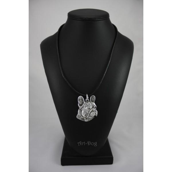 French Bulldog - necklace (strap) - 341 - 1289