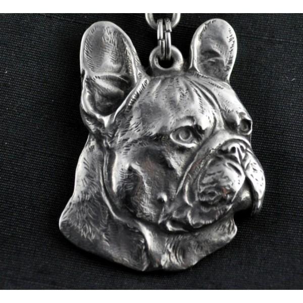 French Bulldog - necklace (strap) - 341 - 1290