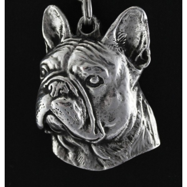 French Bulldog - necklace (strap) - 396 - 1423
