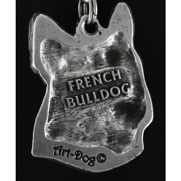 French Bulldog - necklace (strap) - 396 - 1424