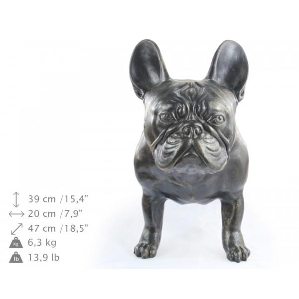 French Bulldog - statue (resin) - 2 - 21714