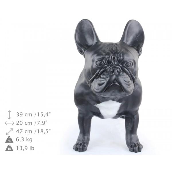 French Bulldog - statue (resin) - 2 - 21753