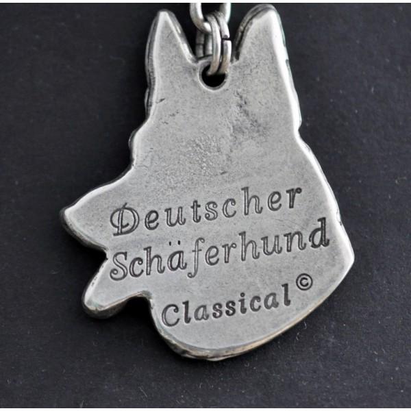German Shepherd - necklace (strap) - 192 - 825
