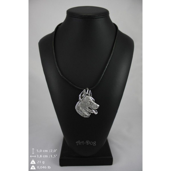 German Shepherd - necklace (strap) - 192 - 8971