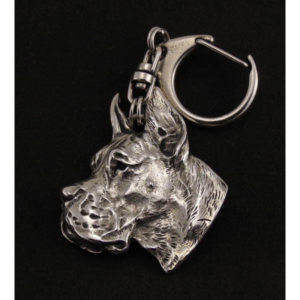 Great Dane - keyring (silver plate) - 4 - 73