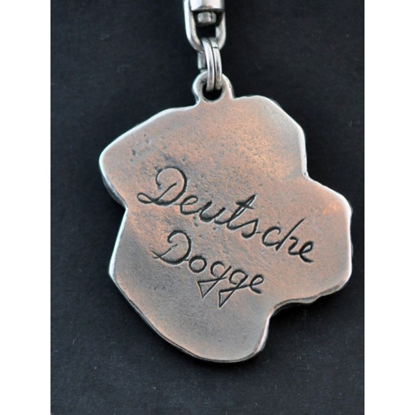 Great Dane - keyring (silver plate) - 47 - 286