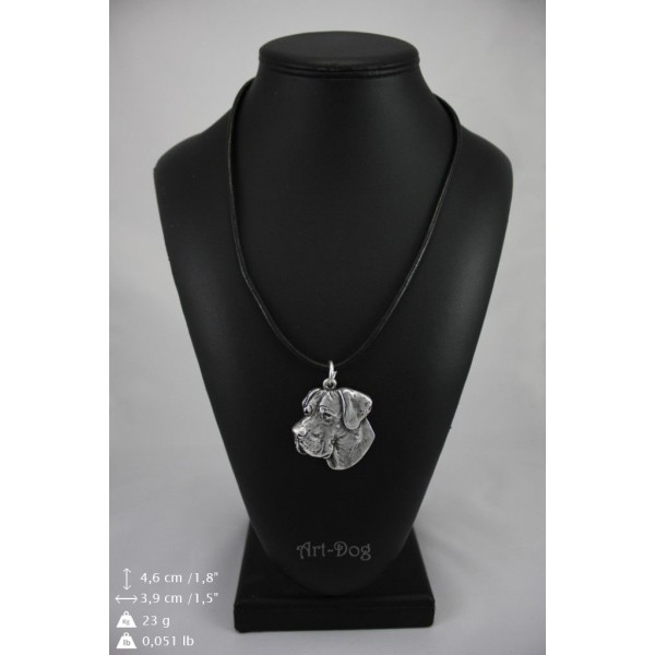 Great Dane - necklace (strap) - 265 - 8991
