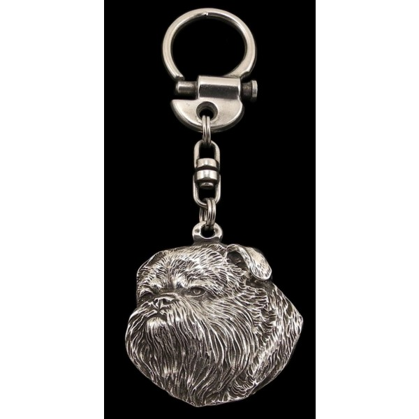 Griffon - keyring (silver plate) - 50 - 308