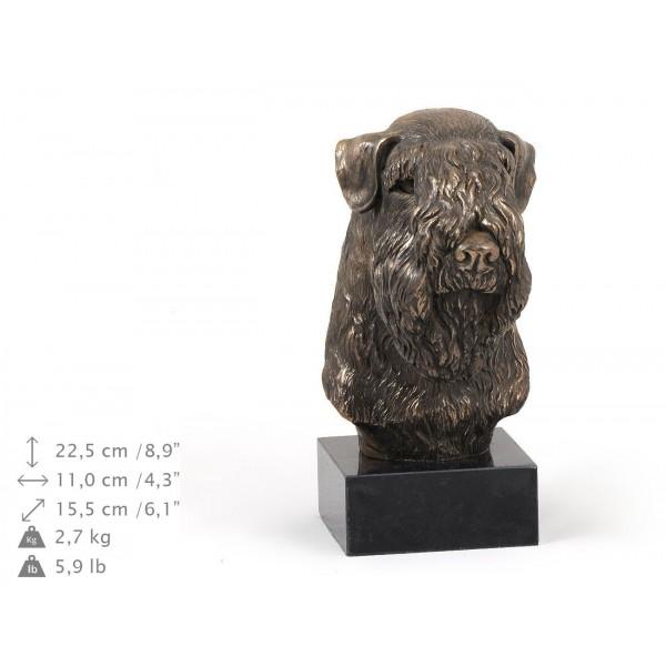 Irish Soft Coated Wheaten Terrier - figurine (bronze) - 314 - 9187