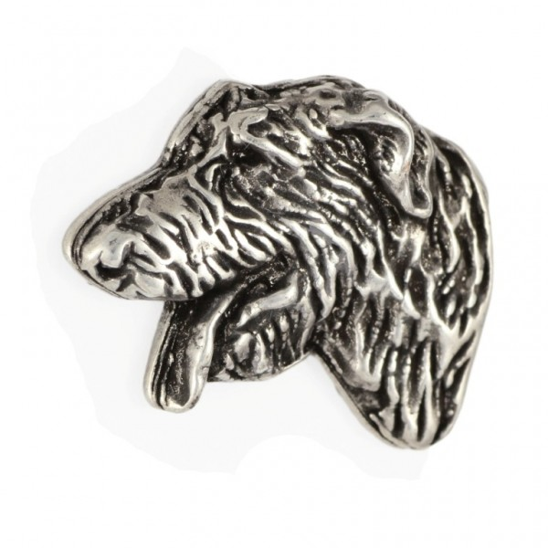 Irish Wolfhound - pin (silver plate) - 459 - 25944