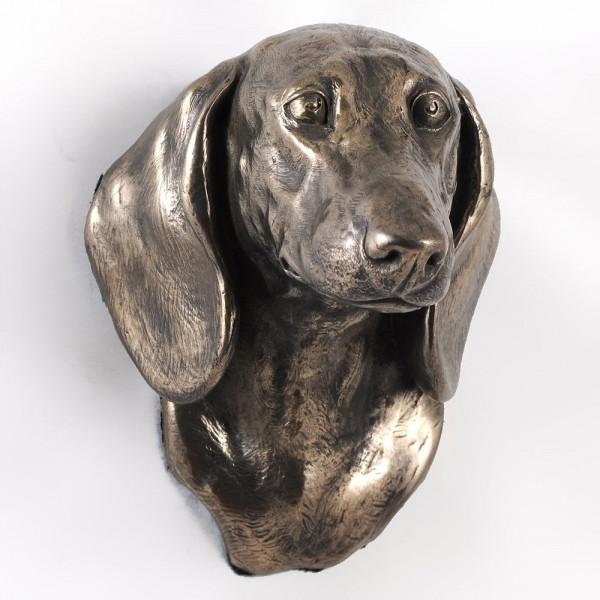 Jamnik Gładkowłosy - figurine (bronze) - 420 - 3412