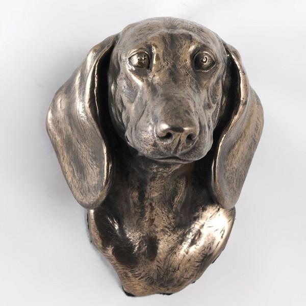 Jamnik Gładkowłosy - figurine (bronze) - 420 - 3413