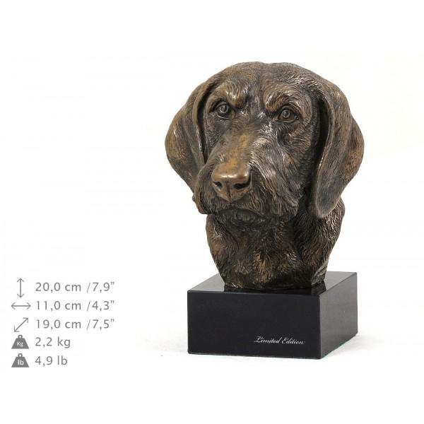 Jamnik Szorstkowłosy - figurine (bronze) - 204 - 9132