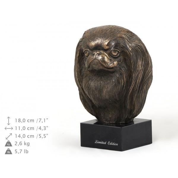 Japanese Chin - figurine (bronze) - 234 - 9153
