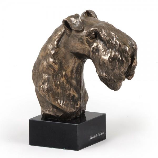 Kerry Blue Terrier - figurine (bronze) - 241 - 2917