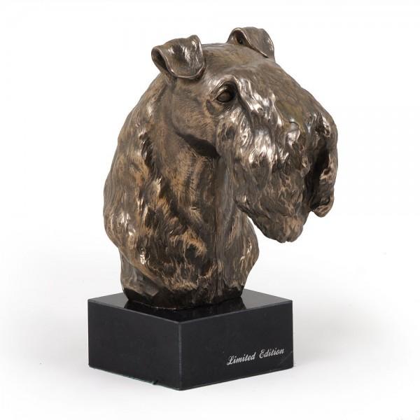 Kerry Blue Terrier - figurine (bronze) - 241 - 2918