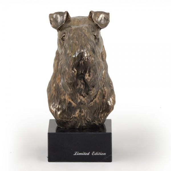 Kerry Blue Terrier - figurine (bronze) - 241 - 2919