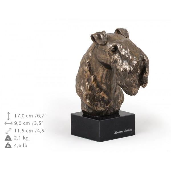 Kerry Blue Terrier - figurine (bronze) - 241 - 9155