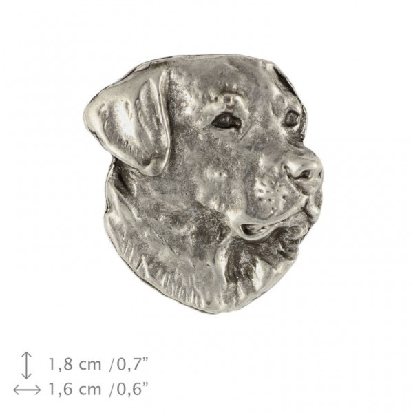 Labrador Retriever - pin (silver plate) - 471 - 25994