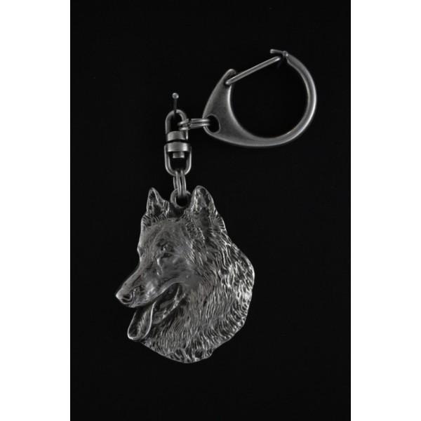 Malinois - keyring (silver plate) - 56 - 338