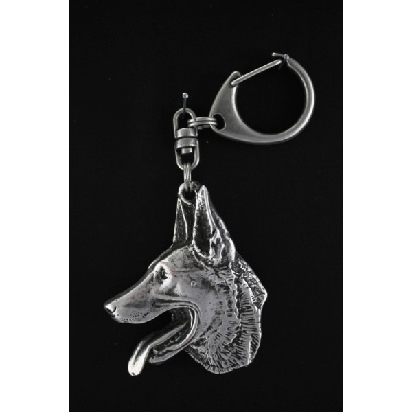 Malinois - keyring (silver plate) - 98 - 537