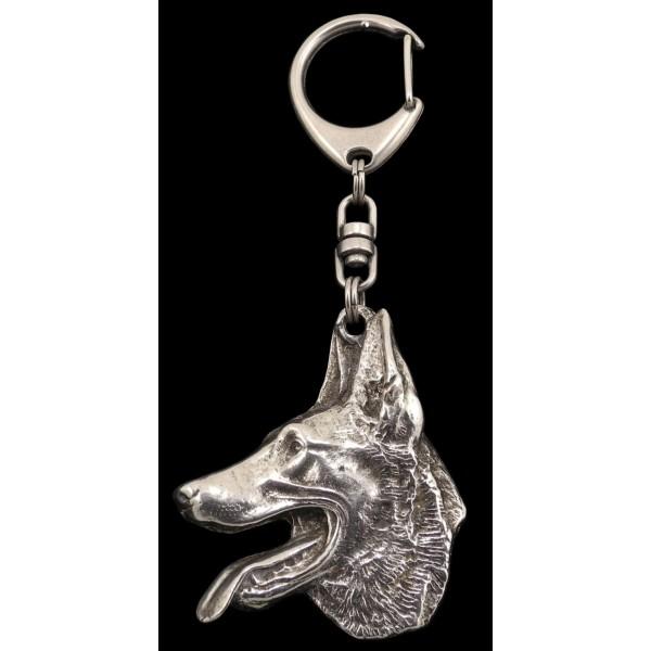 Malinois - keyring (silver plate) - 98 - 539