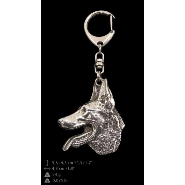 Malinois - keyring (silver plate) - 98 - 9367